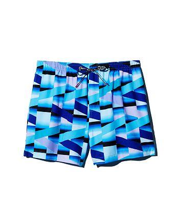 HOMOCO - x Ed Granger Geometric-Print Swim Trunks