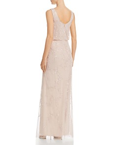 Adrianna Papell - Embellished Blouson Gown