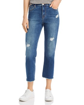 edda3b100 True Religion - Starr Crop Straight Jeans in Midnight Rides ...