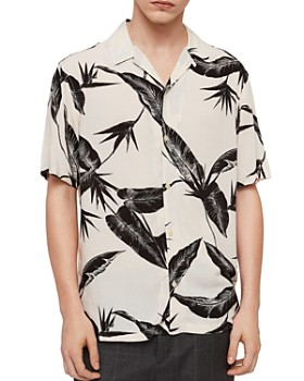 ALLSAINTS - Virginia Short-Sleeve Regular Fit Shirt