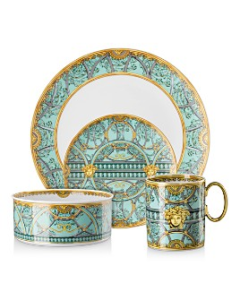 Versace - La Scala del Palazzo Verde Dinnerware Collection