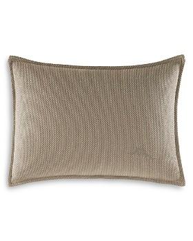 "Tommy Bahama - Raffia Palms Breakfast Pillow, 12"" x 16"""