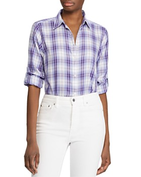 Ralph Lauren - Plaid Button-Down Shirt