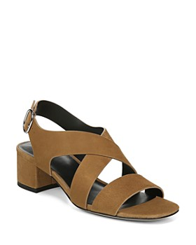 e924583916be Via Spiga - Women s Fallen Block Heel Sandals ...