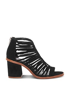 VINCE CAMUTO - Women's Kestal Leather High-Heel Sandals