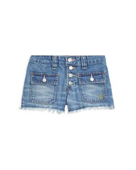 Ralph Lauren - Girls' Frayed Denim Shorts - Big Kid