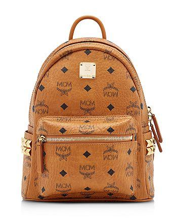 MCM - Stark Mini Studded Backpack
