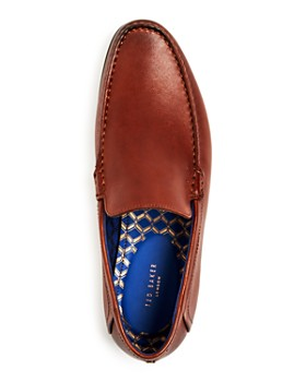 Ted Baker - Men's Lassil Leather Moc-Toe Loafers
