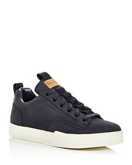G-STAR RAW - Men's Rackam Vodan Nubuck Leather Low-Top Sneakers