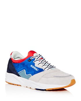 Karhu - Men's Aria Color-Block Suede Low-Top Sneakers