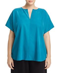 Eileen Fisher Plus - Dolman-Sleeve Top