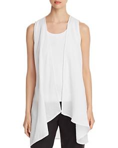Eileen Fisher - Long Open Vest