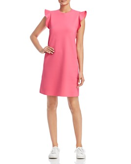 Escada Sport - Delena Ruffle-Sleeve Shift Dress