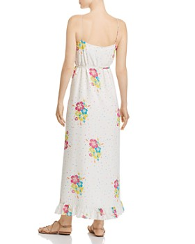 All Things Mochi - Melanie Silk Maxi Dress