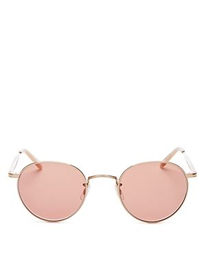 Garrett Leight Women's Wilson Round Sunglasses, 49mm