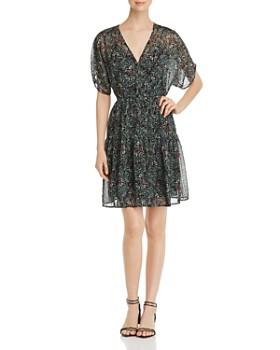 Vero Moda - Liva Floral-Print Chiffon Dress