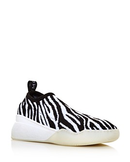 Stella McCartney - Women's Zebra-Print Sock Sneakers