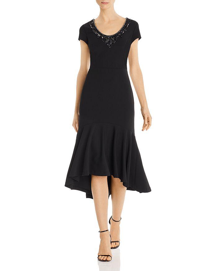 Aidan Mattox - Embellished Crepe Dress