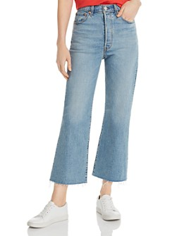 Levi's - Rib Cage Crop Flare Jeans in Scapegoat