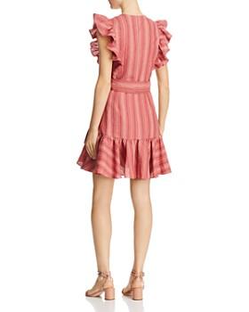 Rebecca Taylor - Striped Wrap Dress