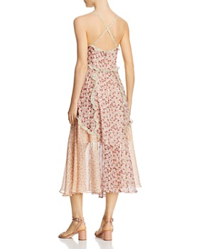 Rebecca Taylor - Lucia Ruffled Floral Dress