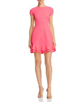 3f8fc6fe8f0 AQUA - Textured Ruffle-Hem Dress - 100% Exclusive ...