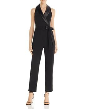 Adrianna Papell - Tuxedo-Style Jumpsuit