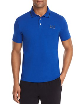 Armani - EA7 Logo Regular Fit Polo Shirt