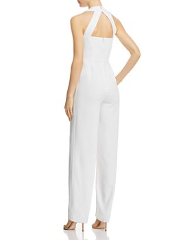 BB DAKOTA - Wide-Leg Crepe Jumpsuit