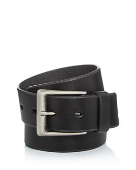 John Varvatos Star USA - Men's Bridle Leather Belt