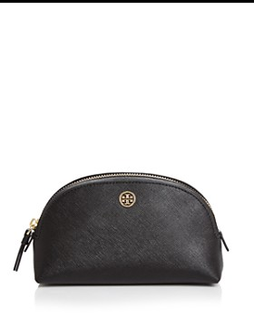 Tory Burch - Robinson Medium Leather Cosmetics Case