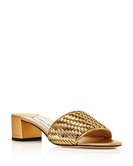 Jimmy Choo - Women's Joni 40 Block-Heel Mules