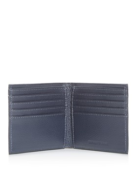 Armani - Vitello Bottalato Leather Bi-Fold Wallet