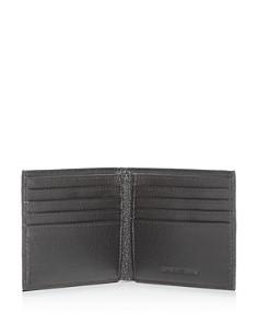 Armani - Vitello Bottalato Leather Bi-Fold Wallet