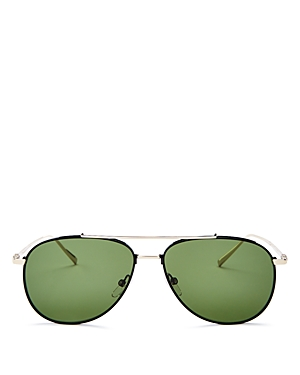 Salavtore Ferragamo Men's Aviator Sunglasses, 60mm