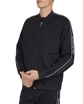 The Kooples - Logo-Embroidered Front-Zip Jacket