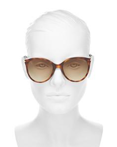 Bottega Veneta - Women's Round Sunglasses, 54mm
