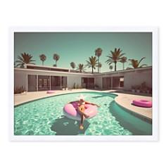 Bloomingdale's Artisan Collection - Pool Side Wall Art, Medium