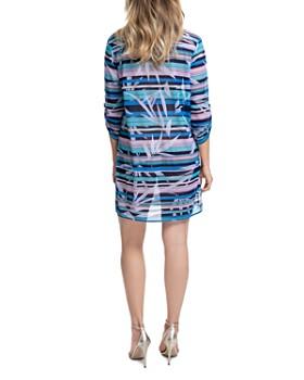 Profile by Gottex - Palm Beach Shirt Dress Swim Cover-Up