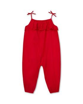 Ralph Lauren - Girls' Eyelet-Overlay Jumpsuit - Baby