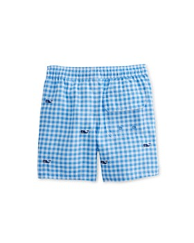 Vineyard Vines - Boys' Gingham Whale Chappy Swim Shorts - Little Kid, Big Kid
