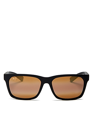 Maui Jim Unisex Boardwalk Polarized Square Sunglasses, 55mm-Jewelry & Accessories