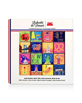 Le Chocolat des Francais - NYC Chocolate Squares, Set of 32