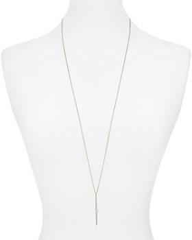 """Nadri - Breeze Linear Pendant Necklace, 32"""""""