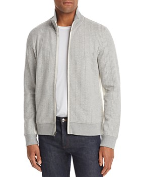 Billy Reid - Ribbon Quilted Double-Faced Track Jacket
