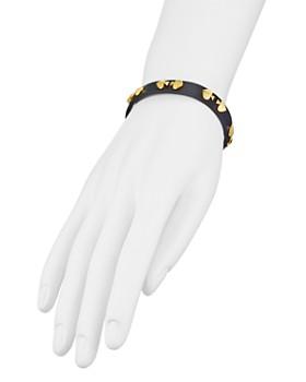 kate spade new york - Studded Leather Bracelet