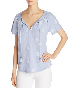8de5956ffef5d0 Daniel Rainn - Embroidered Dandelion Top ...