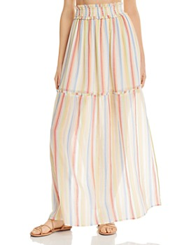 Suboo - Playhouse Striped Maxi Skirt