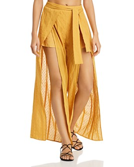 MINKPINK - Shady Wrap Swim Cover-Up Pants