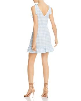 The Fifth Label - Nouveau Gingham Ruffled Mini Dress